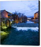 Gatlinburg Mill Canvas Print