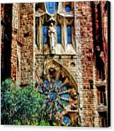 Gaudi Barcelona Canvas Print by Tom Prendergast