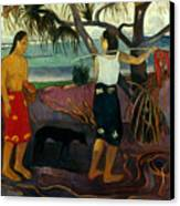 Gauguin: Pandanus, 1891 Canvas Print by Granger