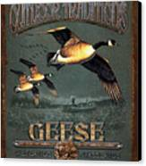 Geese Traditions Canvas Print