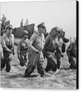 General Douglas Macarthur Returns Canvas Print by War Is Hell Store