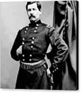General George Mcclellan Canvas Print by War Is Hell Store
