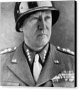 General George S. Patton Jr. 1885-1945 Canvas Print by Everett