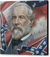 General Robert E Lee Canvas Print by Linda Eades Blackburn