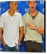 George Clooney, Ryan Gosling Canvas Print by Everett