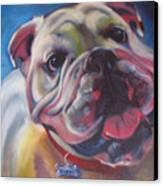 Georgia Bulldog Canvas Print
