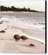 Georgian Bay Beach Canvas Print
