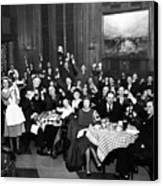 German-americans Celebrate The End Canvas Print