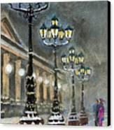 Germany Baden-baden Kurhaus Canvas Print by Yuriy  Shevchuk