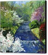Germany Baden-baden Spring Canvas Print by Yuriy  Shevchuk