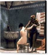 Gerome: The Bath, 1880 Canvas Print by Granger