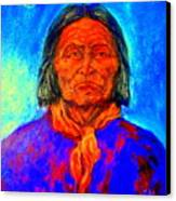 Geromino - Chiricahua Apache Leader Canvas Print