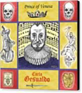 Gesualdo Canvas Print by Paul Helm