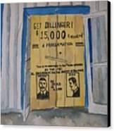 Get Dillinger Canvas Print