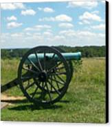 Gettysburg Cannon Canvas Print by Kevin Croitz