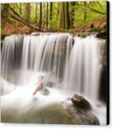 Ghostly Waterfall Canvas Print by Douglas Barnett