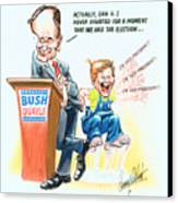Ghwb Election Canvas Print