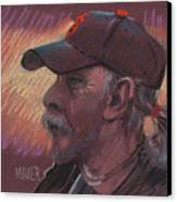 Giants Fan Canvas Print by Donald Maier