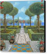 Giardino Italiano Canvas Print