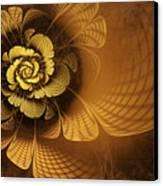 Gilded Flower Canvas Print by John Edwards