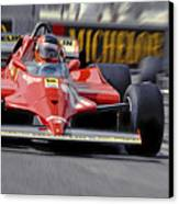 Gilles At Long Beach Canvas Print by Mike Flynn