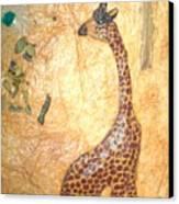 Giraffe   Sold  Canvas Print