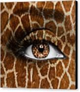 Giraffe Canvas Print by Yosi Cupano