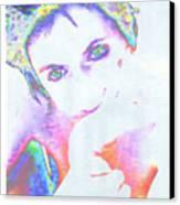 Gisele Canvas Print
