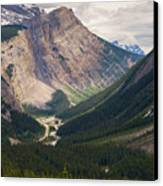 Glacier Road Canvas Print