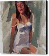 Glam Girl Canvas Print