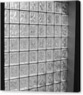 Glass Brick Window Canvas Print by Tony Grider