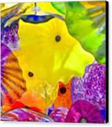 Glass Flowers Canvas Print