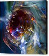 Glass In Motion Canvas Print by Marion McCristall