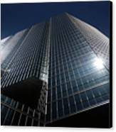 Glass Office Building Canvas Print