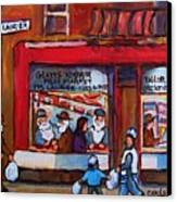 Glatts Kosher Meatmarket And Tailor Shop Canvas Print