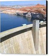 Glen Canyon Dam Canvas Print
