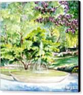 Glencairn Fountain Canvas Print