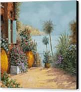 Gli Otri Sul Terrazzo Canvas Print