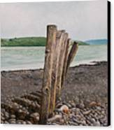Glin Beach Breakers Canvas Print