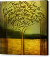 God's Plans Canvas Print by Shevon Johnson