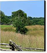 Going To Appomattox Court House Canvas Print