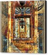 Gold Mine Gas Pump Canvas Print
