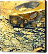 Gold On Gold Canvas Print