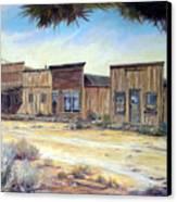 Gold Point Nevada Canvas Print by Evelyne Boynton Grierson