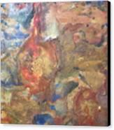 Golden Birth Canvas Print by Dawn Wilie