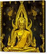 Golden Buddha  Canvas Print