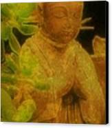 Golden Buddha Canvas Print by Jen White
