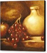 Golden Carafe Canvas Print
