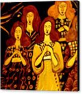 Golden Chords Canvas Print