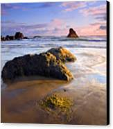 Golden Coast Canvas Print